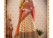 Best offers on pakistani lehengas at mirraw