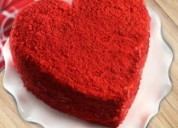 Online valentine cake delivery in delh
