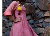 Buy chanderi dress online from diaries of nomad
