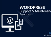 Wordpress support and maintenance services in indi