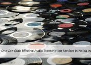 How one can grab effective audio transcription sr.