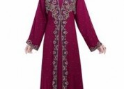 Shop Favourite Pink Kaftan with Impeccable Designs