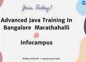 Advanced java training center in bangalore