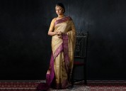 Bridal sarees and wedding sarees online from ammk