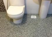 Bathroom epoxy waterproofing