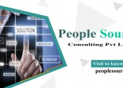 People source consulting pvt - recruitment company