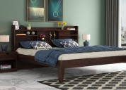 buy bed without storage in chennai @woodenstreet