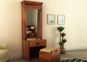 Trendy dressing table online at woodenstreet