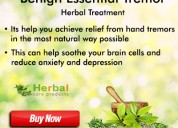 Herbal supplement for benign essential tremor