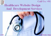 Healthcare website design and development service