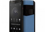 Vertu aster p black & blue mobile phone