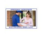 International courier service barnala to worldwide