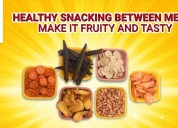 Healthy snacking between meals – make it fruity an