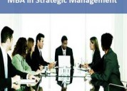 Mba in strategic management