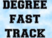 Fast track mode degree graduation