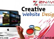 website designing services | zinavo
