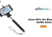 Save 60% on bluetooth selfie stick