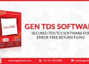 Gen tds software for tds and tcs return filing