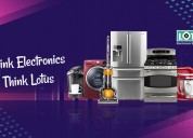 Best electronics shopping store in india - lotus e