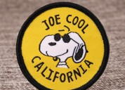Joe cool custom patches