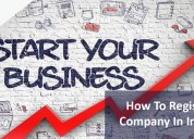 Online company registration in india, company regi