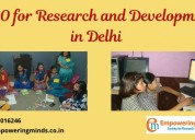 Research & training ngo