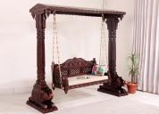 Buy garden swing online in india @ wooden street