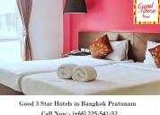 Good 3 star hotels in bangkok pratunam at great pr