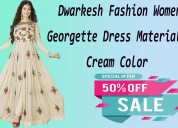 Fashionothon dwarkesh fashion women's georgette dr