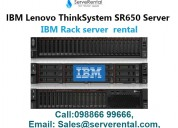 It hardware on rent |ibm lenovo thinksystem sr650
