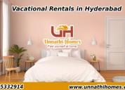 Vacational rentals in secunderabad