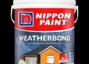 Nippon paint weatherbond pro