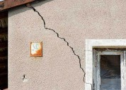 Exterior wall cracks repair
