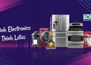 Choose lotus electronic supermarket for electronic