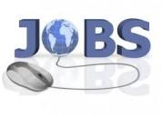 Online office work as full time job
