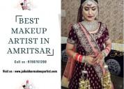 Best makeup artist in amritsar