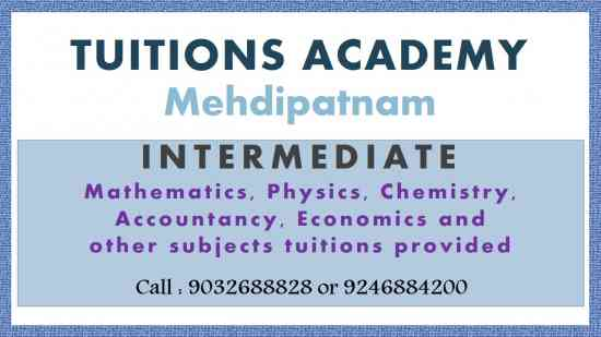 Osmania University - B.Com., and BBA Tuition's