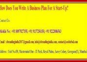 How does you write a business plan for a start-up?