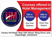7.	institute for restaurant management hazaribag