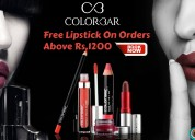 Free lipstick on orders above rs.1200