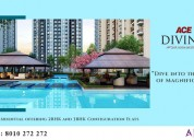 Ace divino buy 2-3 bhk apartments at noida extensi