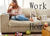 Part / full time/ home based internet work