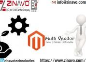 Magento multivendor development services