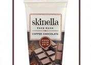 Coffee chocolate face mask - skinella