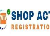 Online shop act(gumasta) registration maharashtra
