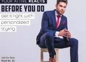 Formal men's suits and blazers | my perfect fit