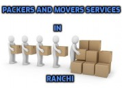 Packers and movers services in ranchi