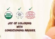 Buy best ayurvedic & organic hair color online in