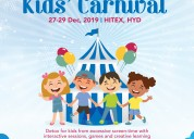 Book your stalls for india largest kids carnival f