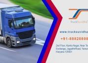 Truck booking app | book truck online